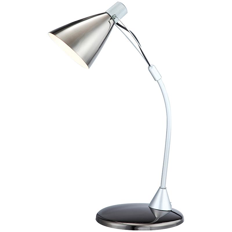 Globo 24744 Настольная лампа ALAGOAS 1x50W GU10 темный