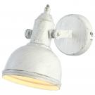 Arte Lamp A5213AP-1WG Подсветка  MARTIN 1x40W E14 бело-золотой
