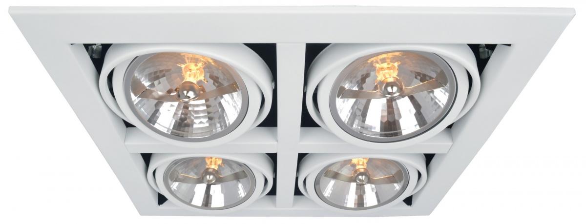 A5935PL-4WH Встраиваемый светильник CARDANI 4x50W, 4xG5,3 Arte Lamp