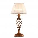CITILUX CL427811 Настольная лампа РОВЕНА 1x75W E27 бронза / белый