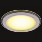 Arte Lamp A4118PL-1WH Встраиваемый светильник неповоротный RAGGIO 1x18W 1440Lm 3000KW  белый