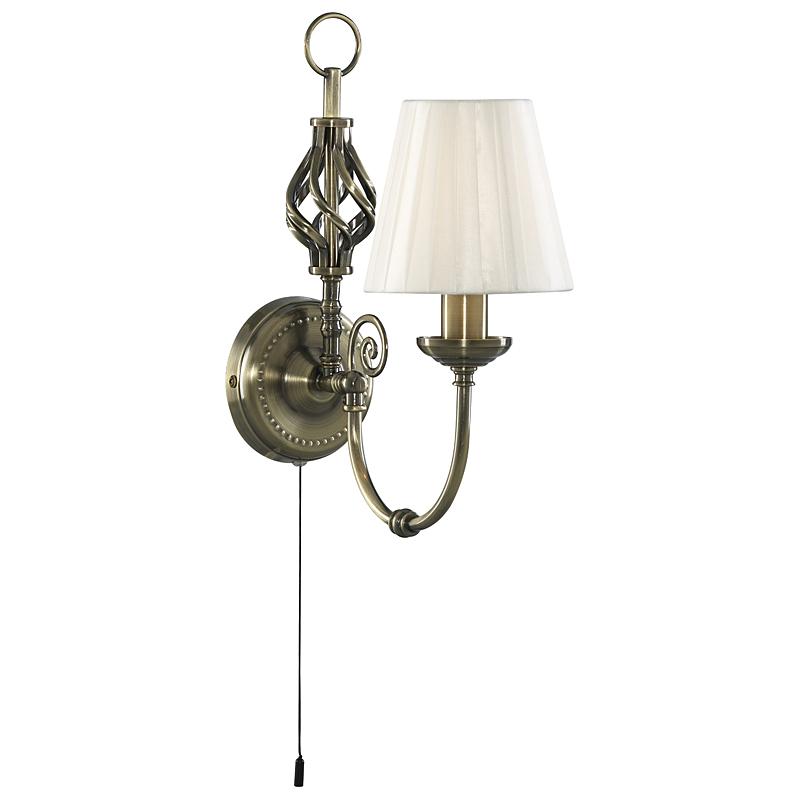 Arte Lamp A8390AP-1AB Бра  ZANZIBAR 1x40W E14 античная бронза
