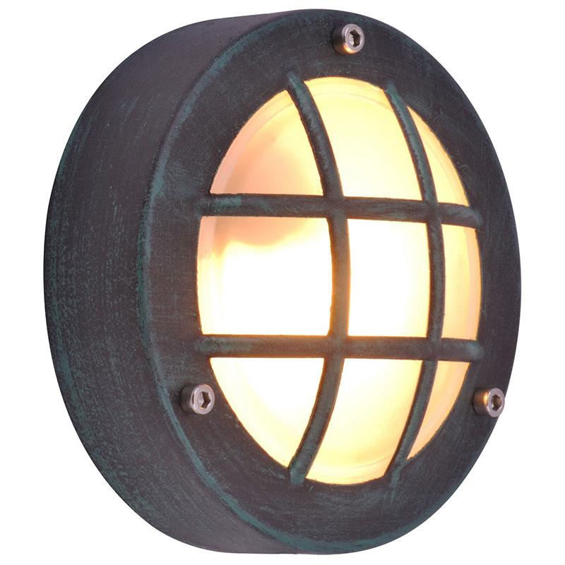 Arte Lamp A2361AL-1BG уличный настенный светильник  LANTERNS 1x20W G9 старая медь IP44