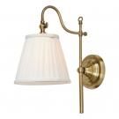 Arte Lamp A1509AP-1PB Бра SEVILLE 1x40W E14 полированная медь / белый