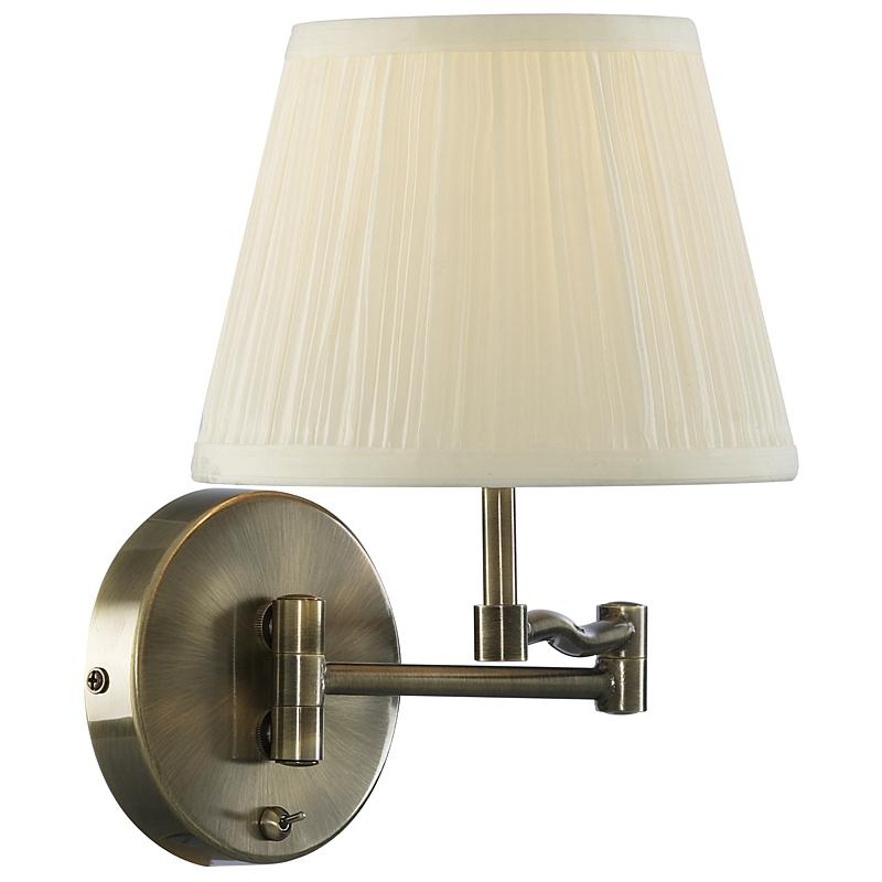 Arte Lamp A2872AP-1AB Бра  CALIFORNIA 1x60W E27 античная бронза