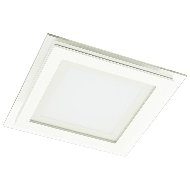 Arte Lamp A4012PL-1WH Встраиваемый светильник неповоротный RAGGIO 1x12W 960Lm 3000KW  белый