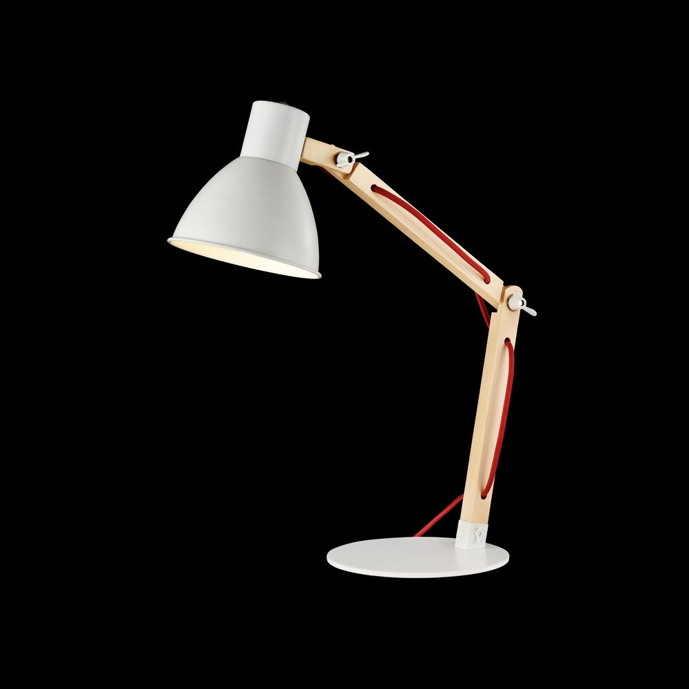 MAYTONI MOD147-01-W Настольная Лампа  APEX 1 x E14 40W Белый