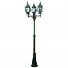 Arte Lamp A1047PA-3BG Уличный светильник столб  ATLANTA 3x100W E27 старая медь IP23