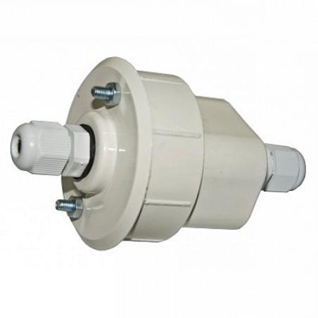 Arte Lamp A220033 Коннектор-заглушка с гермовводом (вн.диам. 55мм) HIGHWAY белый IP65