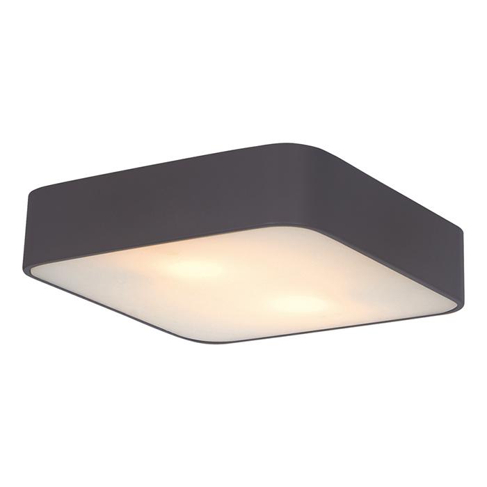 Arte Lamp A7210PL-2BK Потолочный светильник COSMOPOLITAN 2x60W E27 черный / белый
