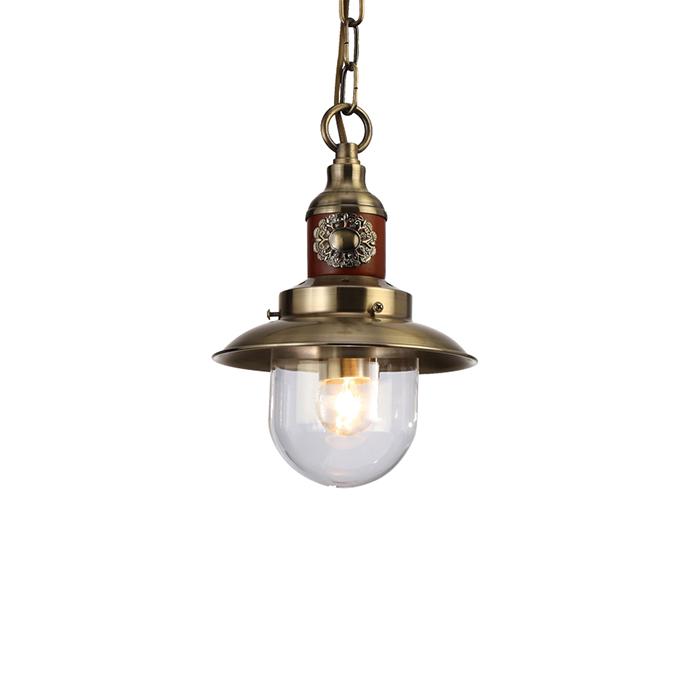 Arte Lamp A4524SP-1AB Подвес SAILOR 1x60W E27 античная бронза / прозрачный