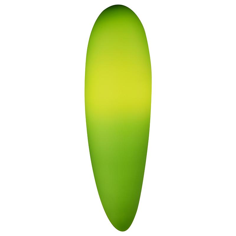 ST LUCE SL507.031.01 Настенный светильник BAGNO 1x60W E27 белый / зеленый