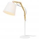Arte Lamp A5700LT-1WH Настольная лампа PINOCCIO 1x60W Е27 белый / белый