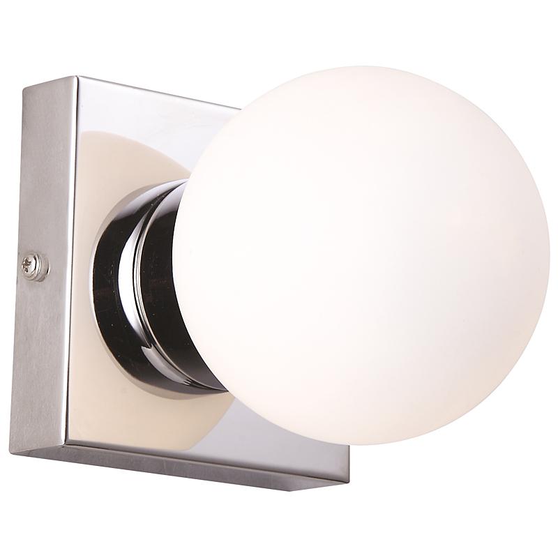 Arte Lamp A9504AP-1CC Настенно-потолочный светильник AQUA 1x33W G9 хром / белый матовый