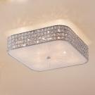 CITILUX CL324281 Потолочный светильник ПОРТАЛ 8x60 E14 Хром/Прозрачный + матовое стекло