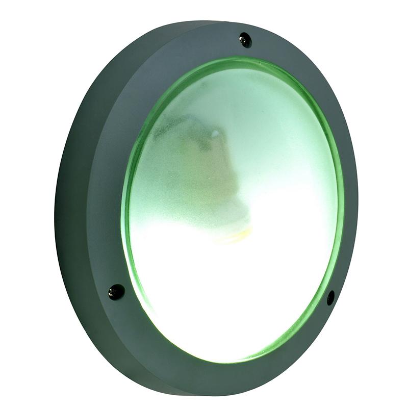 Arte Lamp A2051PF-1GY Уличный накладной светильник  URBAN 1x60W E27 серый IP54