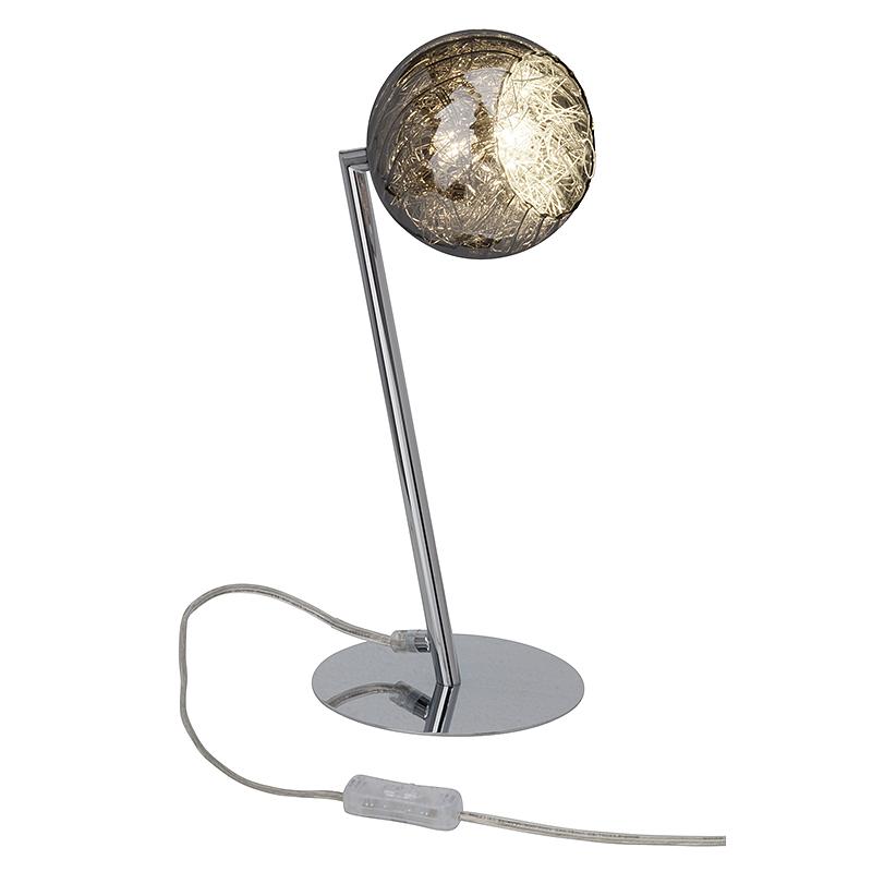 Brilliant G70747/20 Настольная лампа JEWEL 1x42W G9 хром/коричневый