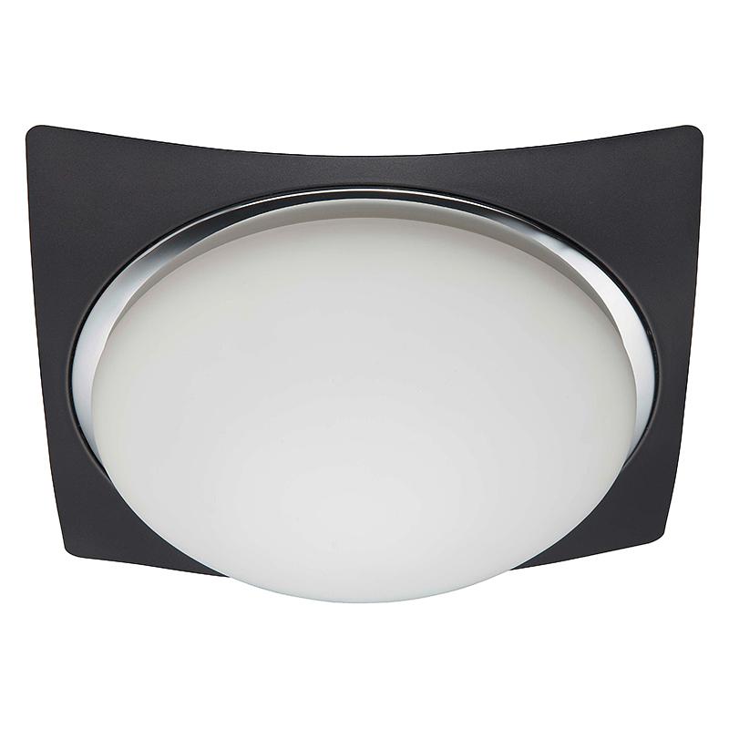 Brilliant 93853/76 Настенно-потолочный светильник MAGNOLIA 3x40W E27 черный/хром/белый, матовый IP44