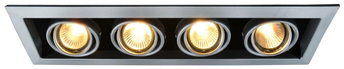A5941PL-4SI Встраиваемый светильник CARDANI 4x50W, 4xGU10 Arte Lamp