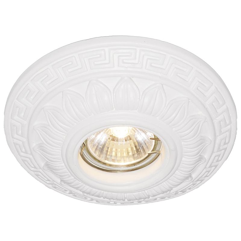 Arte Lamp A5072PL-1WH Встраиваемый светильник неповоротный ANTIC 1x50W GU10 / G5,3 белый