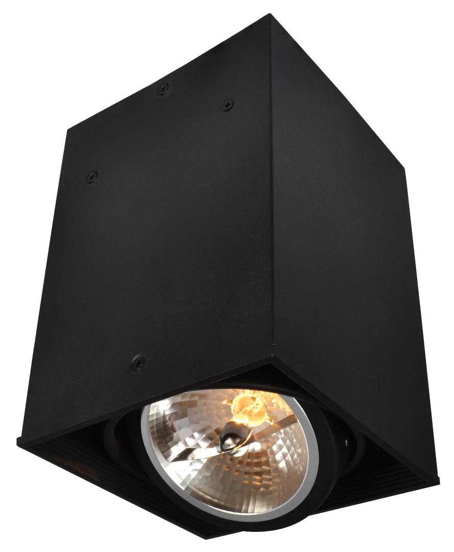 A5936PL-1BK Накладной светильник CARDANI 1x50W, 1xG5,3 Arte Lamp