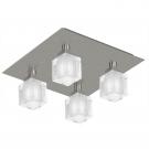 Eglo 83921 Потолочный светильник TRESCO 4x40W G9 никель