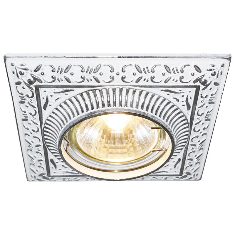 Arte Lamp A5284PL-1WA Встраиваемый светильник неповоротный OCCHIO 1x50W GU10 / G5,3 античный белый