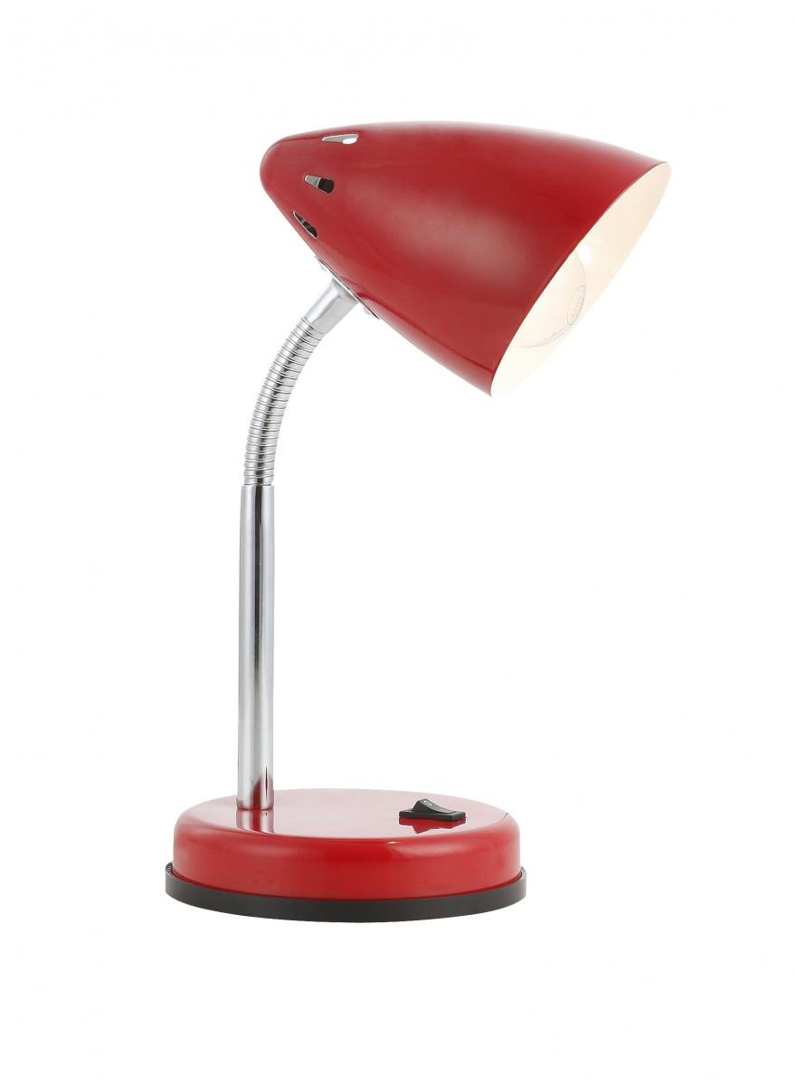Globo 24850 Настольная лампа MONO 1x40W E27 красный