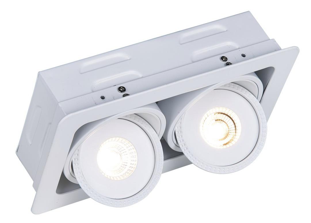 A3007PL-2WH Встраиваемый светильник STUDIO 2x7W, 2xLED Arte Lamp