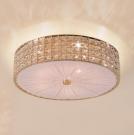 CITILUX CL324152 Потолочный светильник ПОРТАЛ 5x60 E14 Золото/Прозрачный + матовое стекло