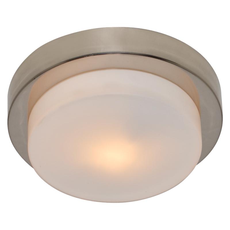 Arte Lamp A8510PL-1SS Настенно-потолочный светильник  AQUA 1x28W G9 матовое серебро IP44