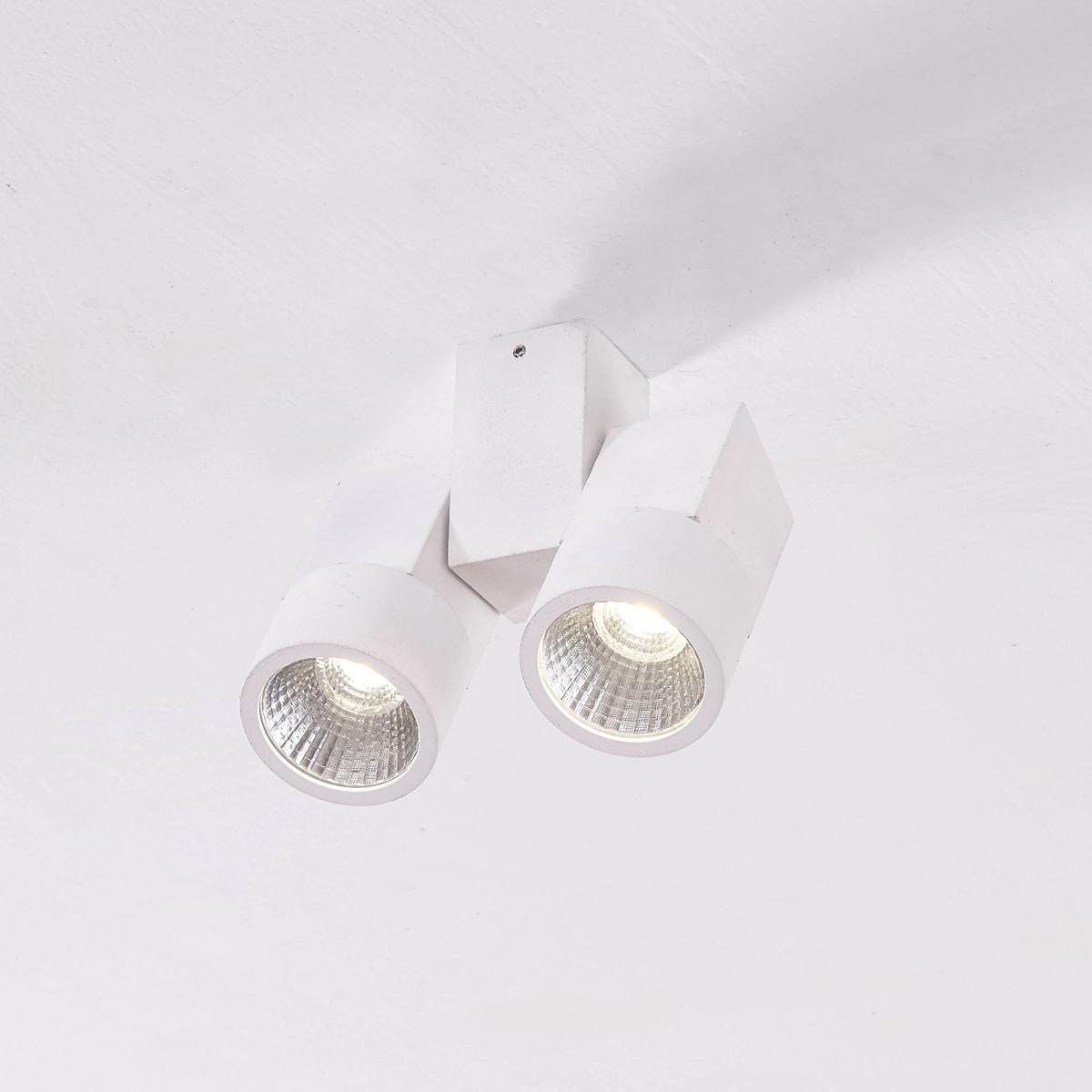 CITILUX CL556100 Накладной светильник ДУБЛЬ 2x5W LED белый