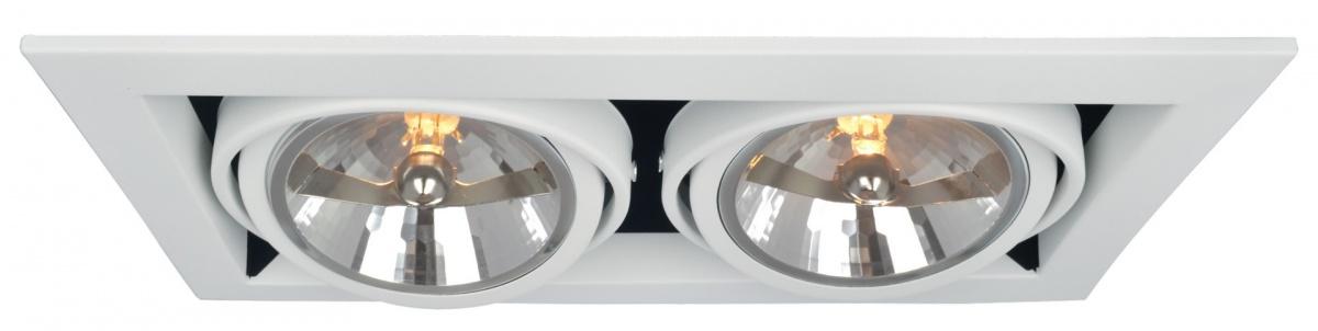 A5935PL-2WH Встраиваемый светильник CARDANI 2x50W, 2xG5,3 Arte Lamp