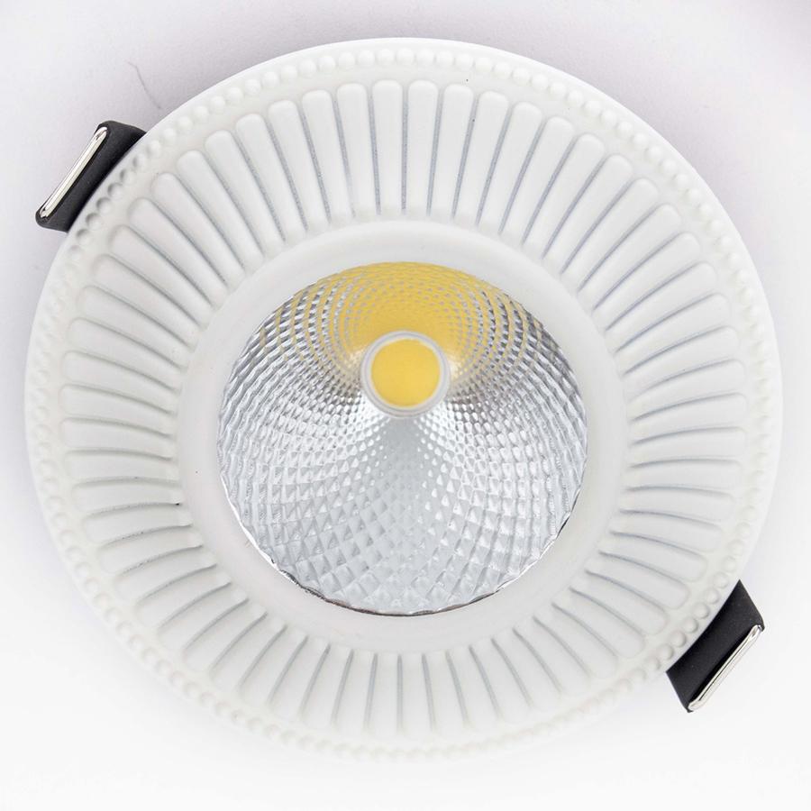CITILUX CLD042W0 Встраиваемый светильник ДЗЕТА 1x7W LED белый