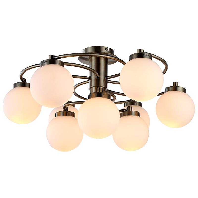 Arte Lamp A8170PL-9AB Люстра потолочная  CLOUD 9x40W E14 античная бронза