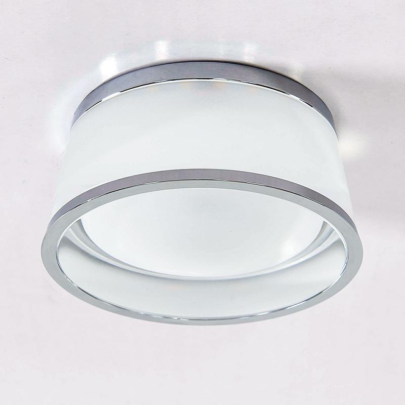 CITILUX CLD003M1 Встраиваемый светильник СИГМА 1x7W LED хром