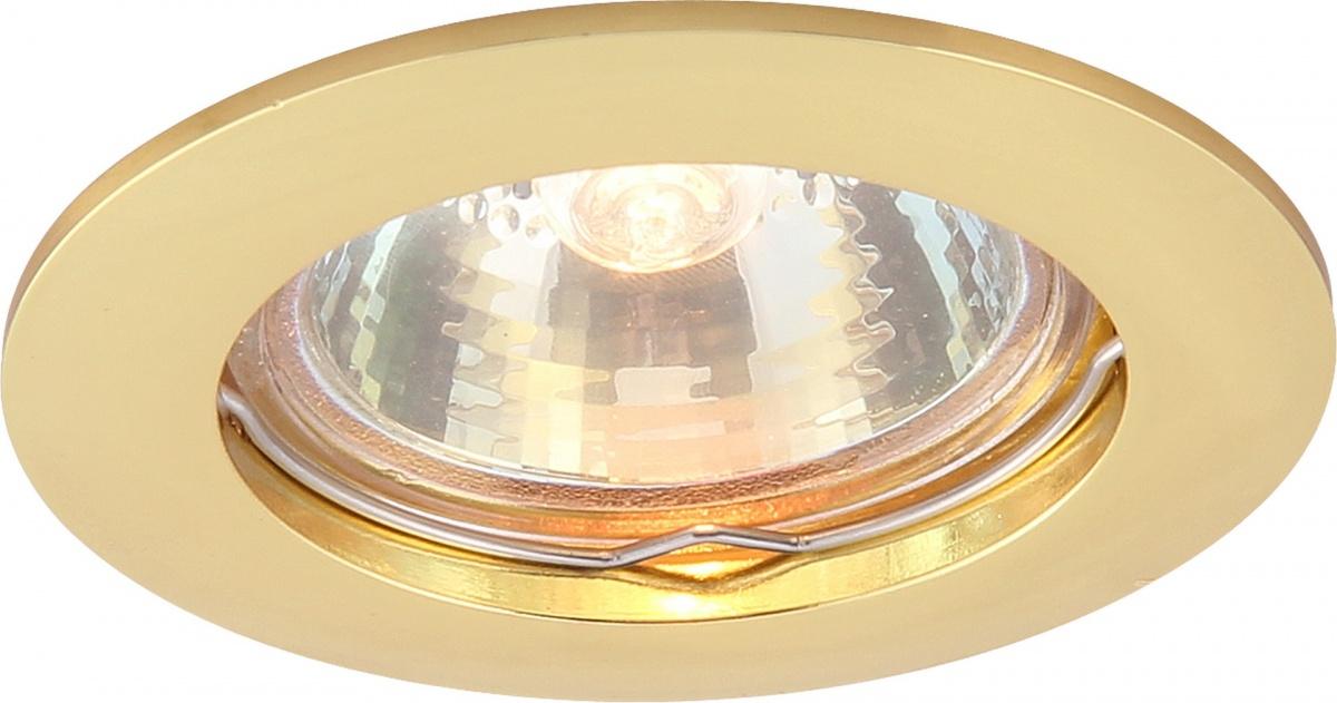 A2103PL-1GO Встраиваемый светильник BASIC 1x50W, 1xGU10 Arte Lamp