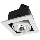 Arte Lamp A5930PL-1WH Встраиваемый светильник поворотный TECHNIKA 1x50W G53 белый IP23