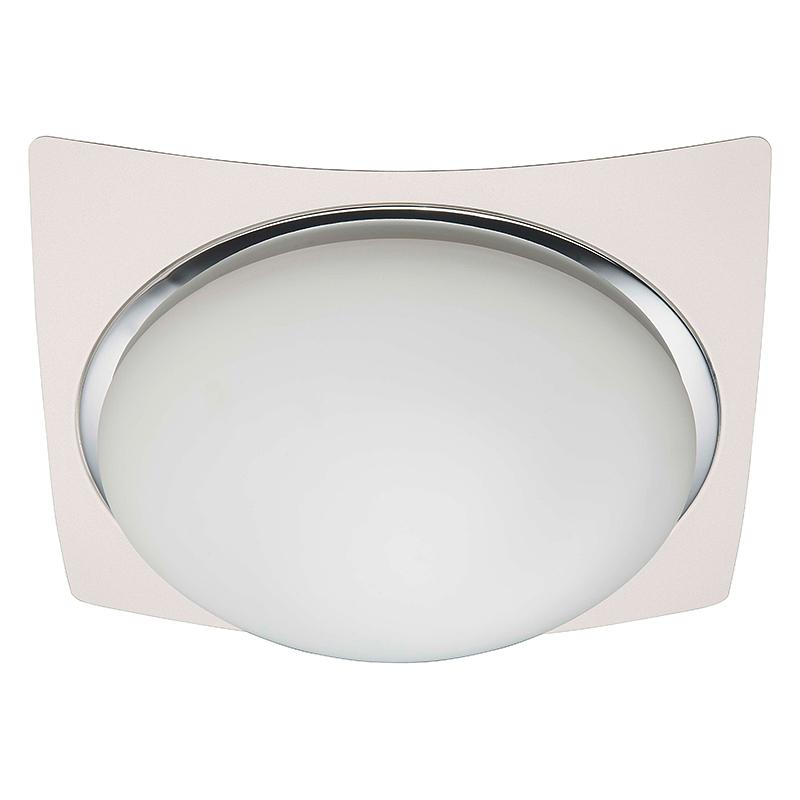Brilliant 93853/75 Настенно-потолочный светильник MAGNOLIA 3x40W E27 белый/хром/белый, матовый IP44