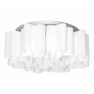 Lightstar 802090 Люстра потолочная NUBI 9x40W E27 хром/белый