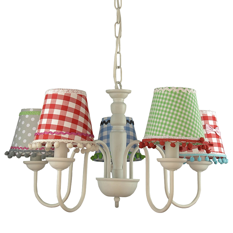 Arte Lamp A5165LM-5WH Люстра  PROVENCE 5x40W E14 белый