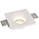 Arte Lamp A9110PL-1WH Встраиваемый светильник неповоротный INVISIBLE 1x35W GU10 белый