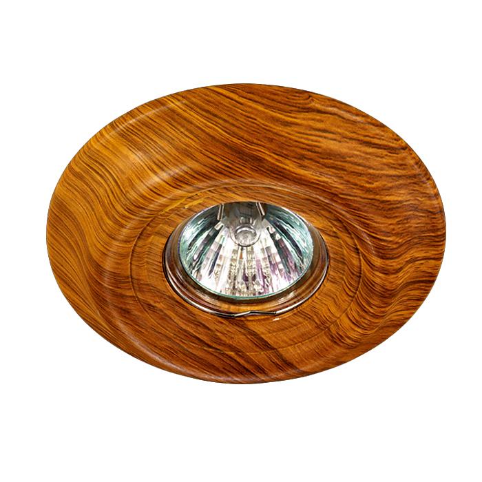 NOVOTECH 370088 Встраиваемый светильник неповоротный 1x50W GX5.3 IP20 светлое дерево