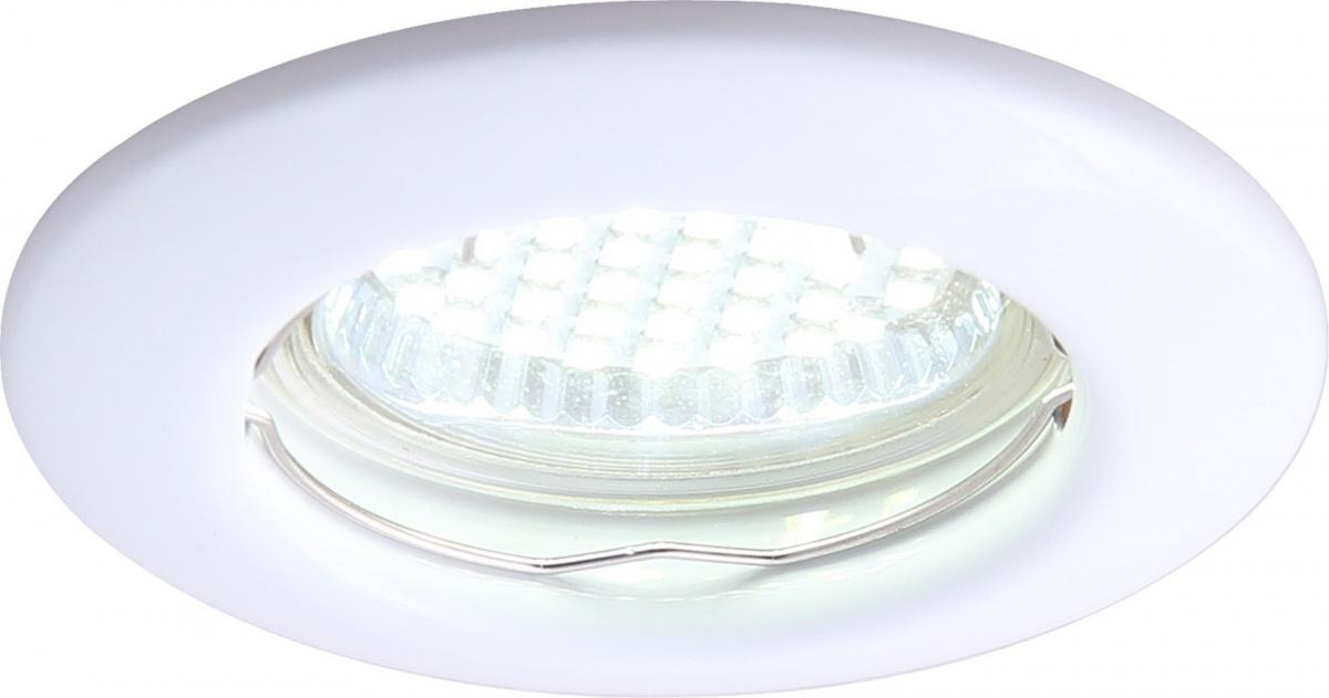 A1203PL-1WH Встраиваемый светильник PRAKTISCH 1x50W, 1xGU10 Arte Lamp