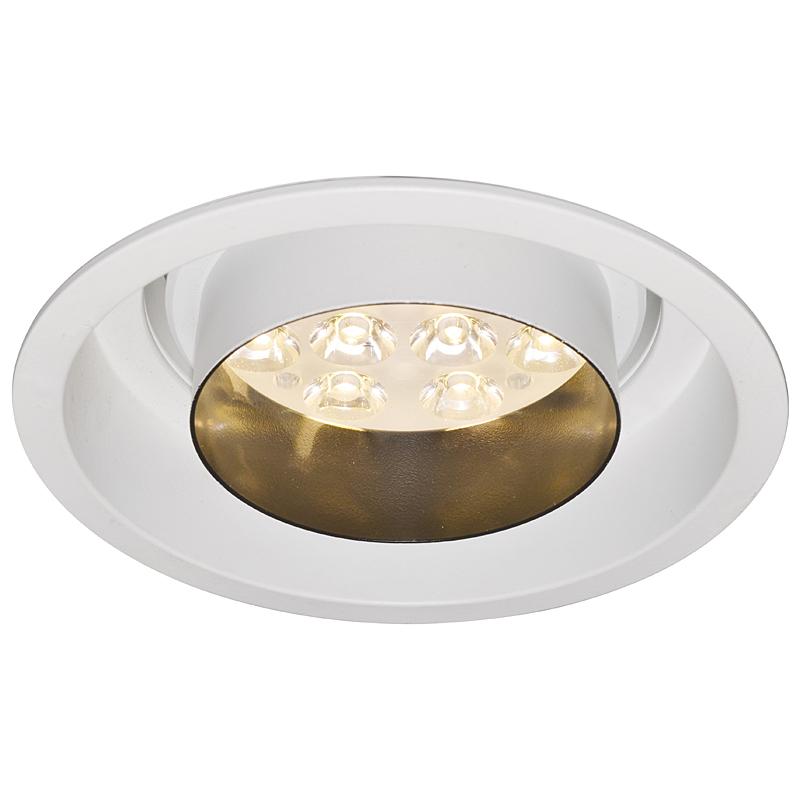 Arte Lamp A2012PL-1WH Встраиваемый светильник неповоротный ACCENT 1x12W 840Lm 3000KW  белый
