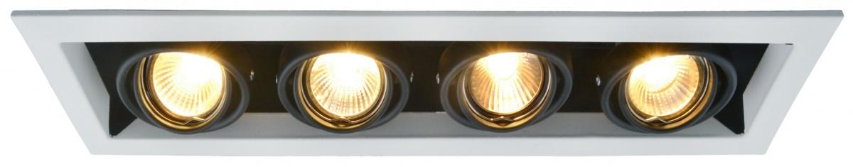 A5941PL-4WH Встраиваемый светильник CARDANI 4x50W, 4xGU10 Arte Lamp