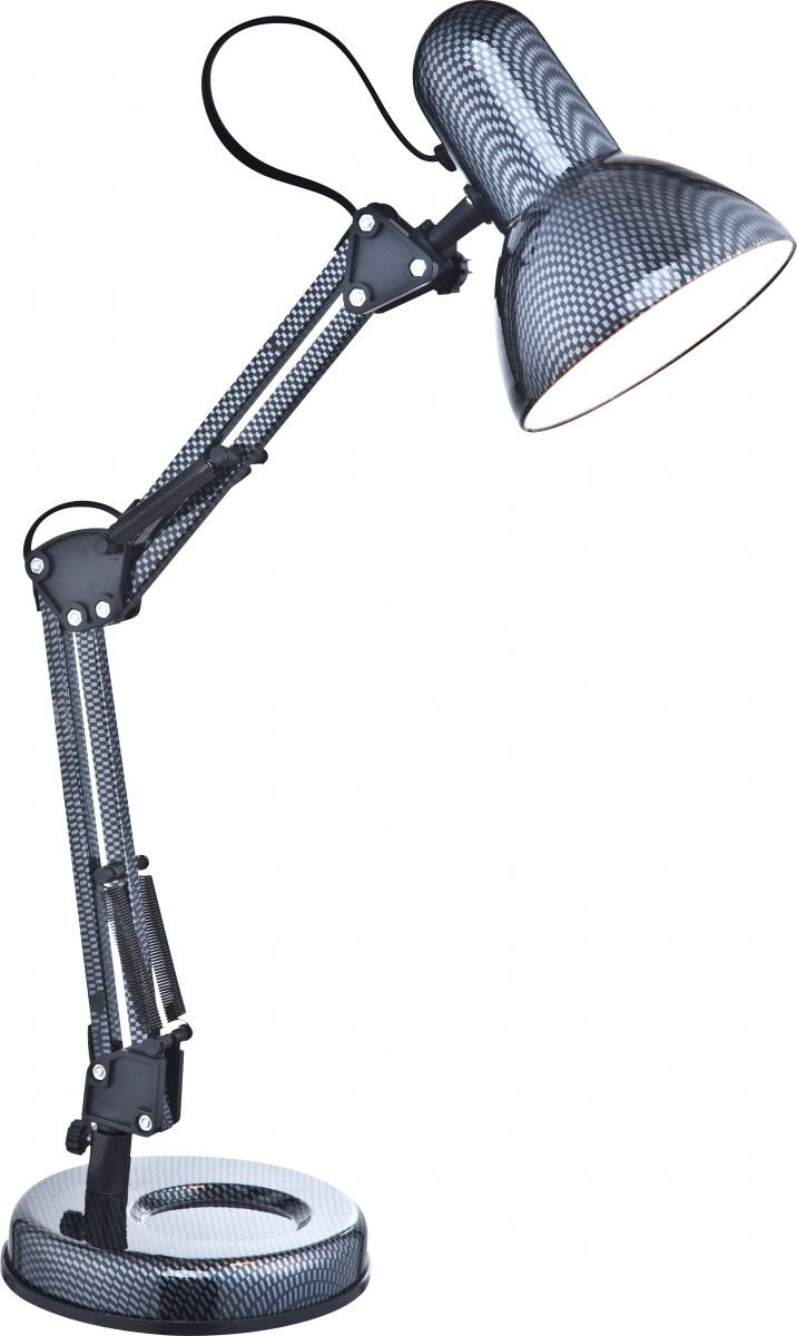 Globo 24892 Настольная лампа CARBON 1x40W E27 карбон