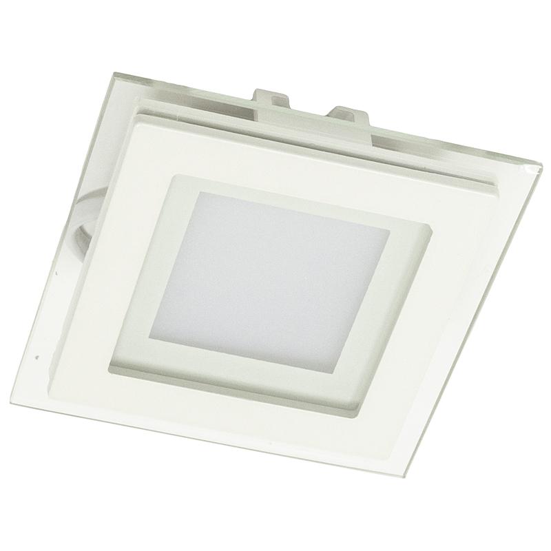 Arte Lamp A4006PL-1WH Встраиваемый светильник неповоротный RAGGIO 1x6W 480Lm 3000KW  белый