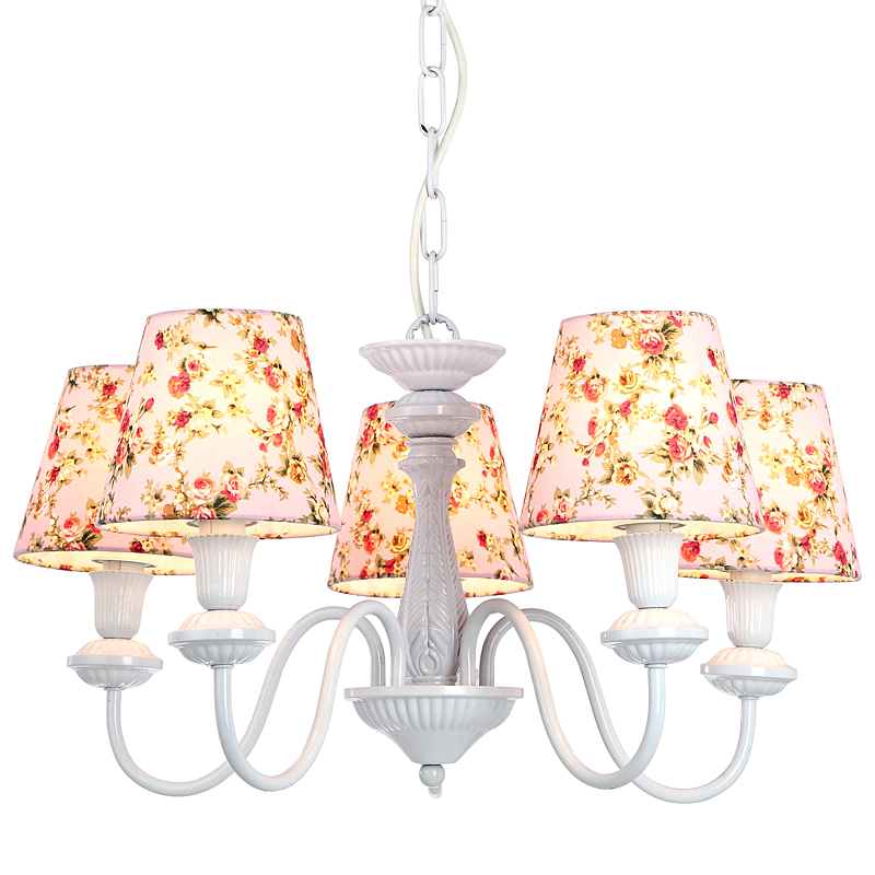 Arte Lamp A9212LM-5WH Люстра  PROVENCE 5x40W E14 белый