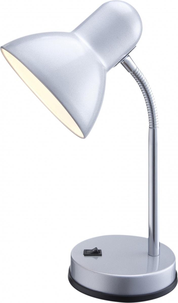 Globo 2487 Настольная лампа BASIC 1x40W E27 хром